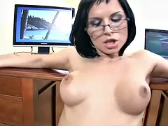 Renata Black gets her ass fucked in the office