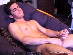 Devon Hart Beats His Meat