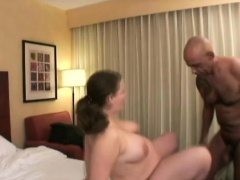 Horny dude enjoys the voluminous tits and curves of a feisty pregnant woman