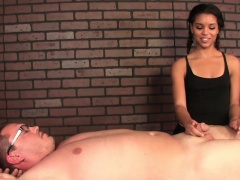Ebony masseuse Gabriella Ford cbt domination
