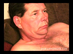 Mature Amateur Raymond Jerks Off