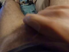 Gern wichse ich mit Porno