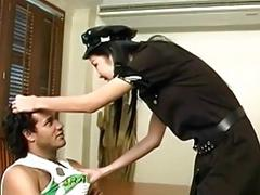 Asian tranny gets a messy facial after ramming