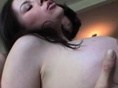Big tits pornstar dap and cumshot