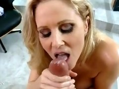 Steaming Blondie Cougar Gets Plumbed In POINT OF VIEW Episode