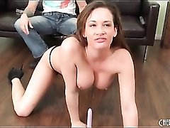 Tattooed Tory Lane moans in toy sex video