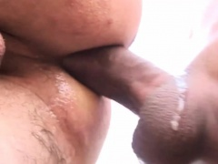 Hung latino raw dawgs ass