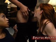 Bondage latex mask and pawn shop blowjob Sexy young girls, A
