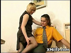 Hard Screwing In Amazing Beautiful Milf Beaver