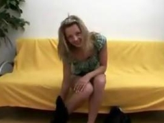 Tempting teens first rough sex captured on tape